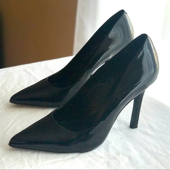 BCBGeneration Pointy Toe Patent Leather Pumps